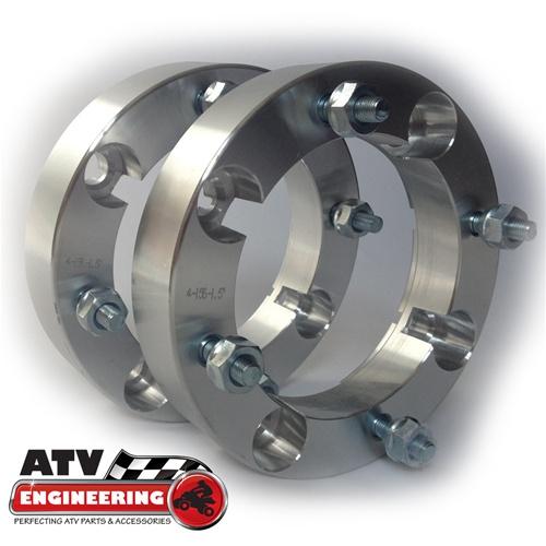 "4x156 1.5/"" ATV Wheel Spacers Polaris Scrambler Diesel Big Boss Cyclone"